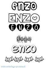 Imprimer le coloriage : Enzo, numéro 2e52eeb9