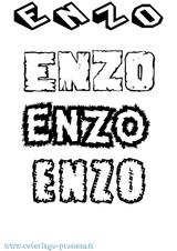 Imprimer le coloriage : Enzo, numéro 2f337824