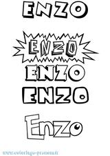 Imprimer le coloriage : Enzo, numéro e2d5d495