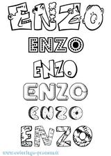 Imprimer le coloriage : Enzo, numéro f3bc4ded