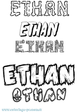 Imprimer le coloriage : Ethan, numéro f32e1add
