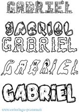 Imprimer le coloriage : Gabriel, numéro 7ce496f7