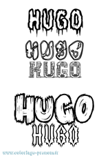 Imprimer le coloriage : Hugo, numéro b6caf9b2