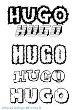 Imprimer le coloriage : Hugo, numéro e9e86a3a