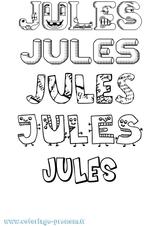 Imprimer le coloriage : Jules, numéro 10520821