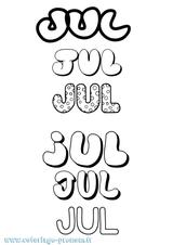 Imprimer le coloriage : Jules, numéro 4afd6320