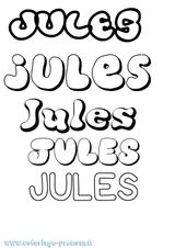 Imprimer le coloriage : Jules, numéro 532aff10