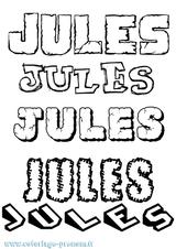 Imprimer le coloriage : Jules, numéro 6bbb8808
