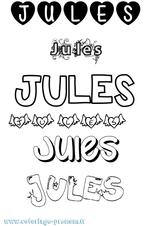 Imprimer le coloriage : Jules, numéro 7dbc1827