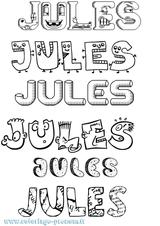 Imprimer le coloriage : Jules, numéro 80e54e73