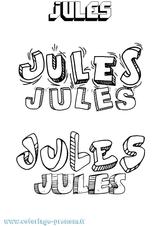 Imprimer le coloriage : Jules, numéro 94d5075f