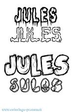 Imprimer le coloriage : Jules, numéro c434c32