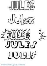 Imprimer le coloriage : Jules, numéro fd6a7cb8