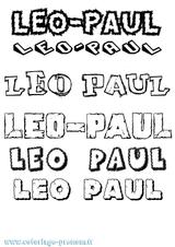 Imprimer le coloriage : Léo, numéro 185b022f