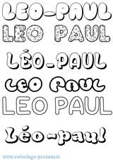 Imprimer le coloriage : Léo, numéro 271f43d6