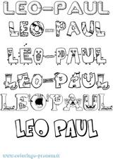 Imprimer le coloriage : Léo, numéro 2bf73c15