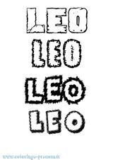 Imprimer le coloriage : Léo, numéro 4a2e73bf