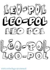 Imprimer le coloriage : Léo, numéro 5e5947a0