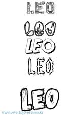 Imprimer le coloriage : Léo, numéro 68392537