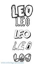 Imprimer le coloriage : Léo, numéro 80bf5cd4