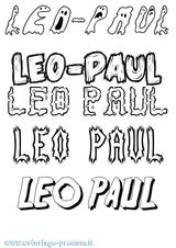 Imprimer le coloriage : Léo, numéro d659483f