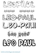 Imprimer le coloriage : Léo, numéro ea247f6a
