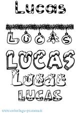 Imprimer le coloriage : Lucas, numéro 84f6743f