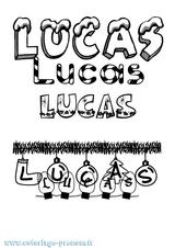 Imprimer le coloriage : Lucas, numéro c7936027