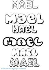 Imprimer le coloriage : Maël, numéro 54e56155