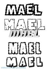 Imprimer le coloriage : Maël, numéro e8873858
