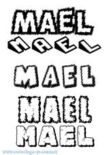 Imprimer le coloriage : Maël, numéro f78216cc