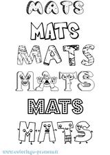 Imprimer le coloriage : Mathis, numéro 5ea9f01c