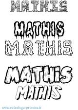 Imprimer le coloriage : Mathis, numéro da6d7b3f