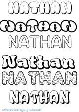 Imprimer le coloriage : Nathan, numéro 20b78822