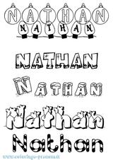 Imprimer le coloriage : Nathan, numéro 37f285d4