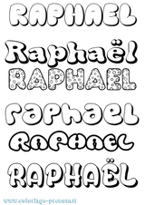 Imprimer le coloriage : Raphaël, numéro e04efd46