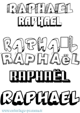 Imprimer le coloriage : Raphaël, numéro ed4ffe5b