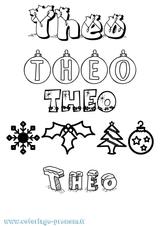 Imprimer le coloriage : Théo, numéro 2a239cbe