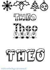 Imprimer le coloriage : Théo, numéro aee7842c