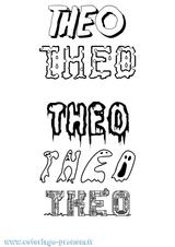 Imprimer le coloriage : Théo, numéro bbf3c74a