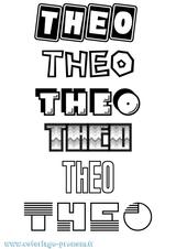 Imprimer le coloriage : Théo, numéro efe413b