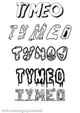 Imprimer le coloriage : Timéo, numéro 1b555000