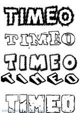 Imprimer le coloriage : Timéo, numéro 292d54e2
