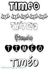 Imprimer le coloriage : Timéo, numéro 3f39639f