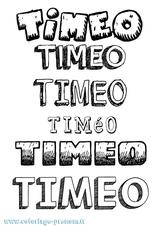 Imprimer le coloriage : Timéo, numéro 470bb735