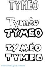 Imprimer le coloriage : Timéo, numéro 4de0e631