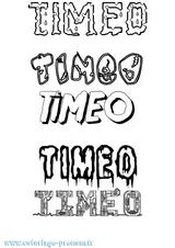 Imprimer le coloriage : Timéo, numéro 5c8d282b