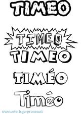 Imprimer le coloriage : Timéo, numéro 66e5ae33