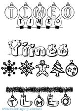 Imprimer le coloriage : Timéo, numéro e3440b0c