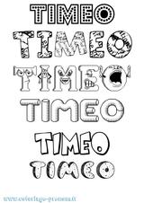 Imprimer le coloriage : Timéo, numéro ff22bf4a